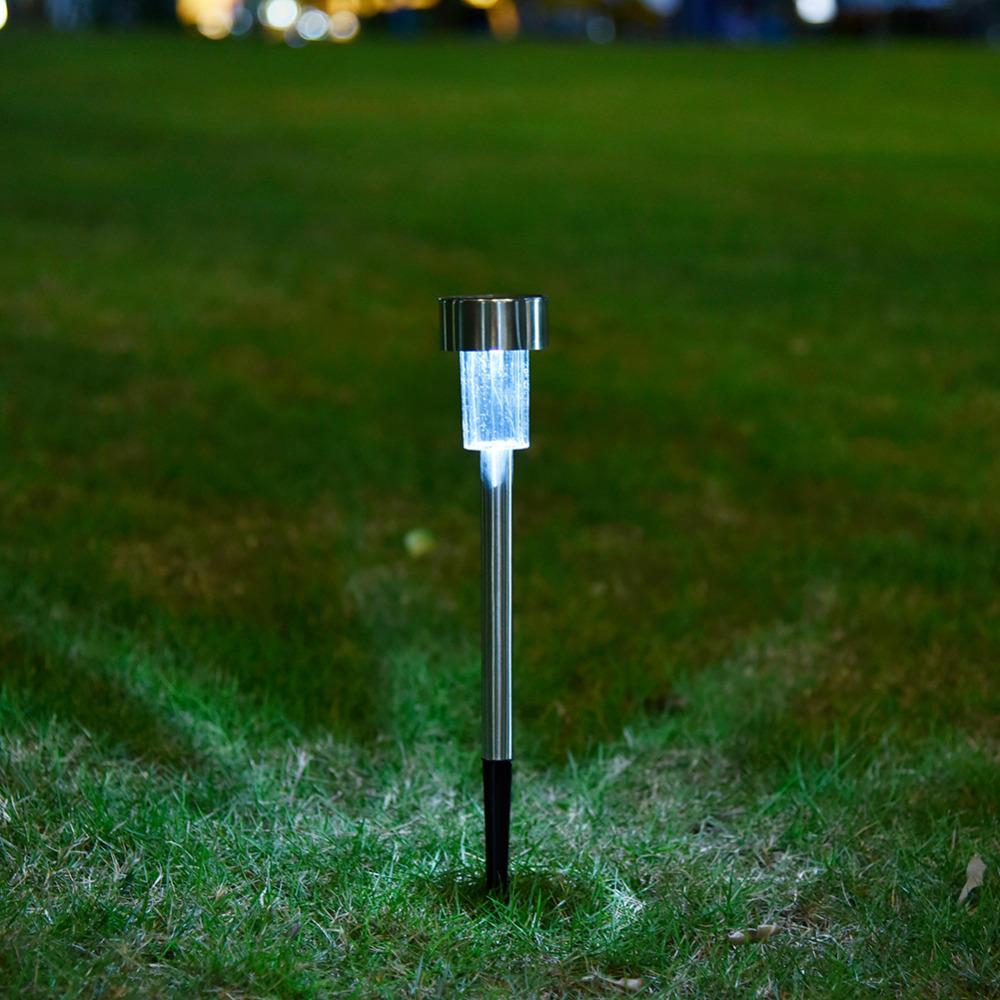 solare Pannello LED Spike Spot Lightt Landscape Giardino Giardino Percorso Prato Outdooors solare Lampade