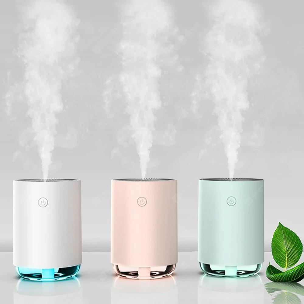 MJ MJ-01 Sterilization Air Humidifier with Mini Night Light 220ml Ultrasonic Fog Creator Home Office Car