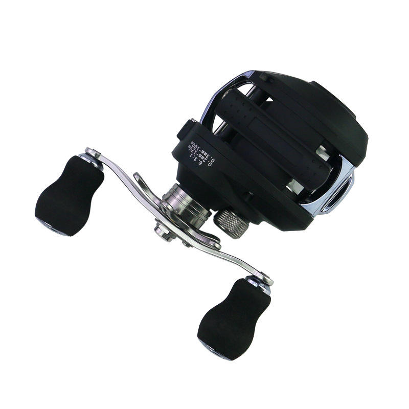 SeaKnight POTM 11+1BB 7.6:1 Carbon Fiber Baitcasting Fishing Reel Max 5KG Sea Fishing Wheel - 4