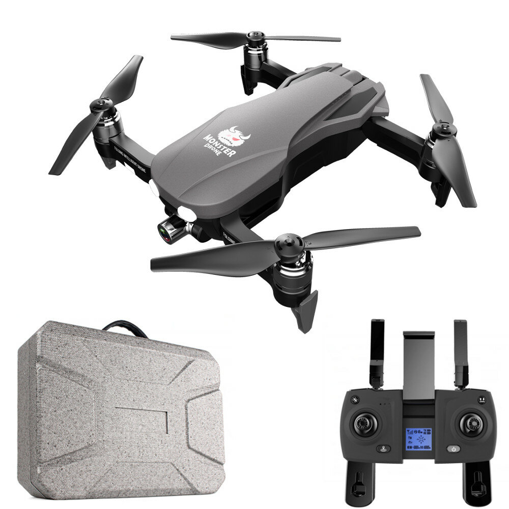 FQ777 F8 GPS 5G WiFi FPV w/ 4K HD Camera 2-axis Gimbal Brushless Foldable RC Drone Quadcopter RTF