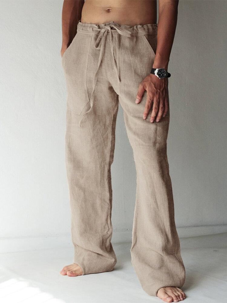 Men's Harem Pants Floral Bohemian Hippy Yoga Long Trousers Skinny Casual Bottoms - 1