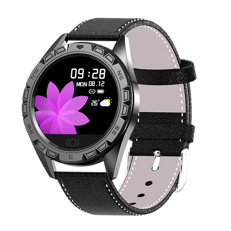 Bakeey B3 Heart Rate Blood Pressure Oxygen Monitor Weather Push Brightness Adjust Smart Watch