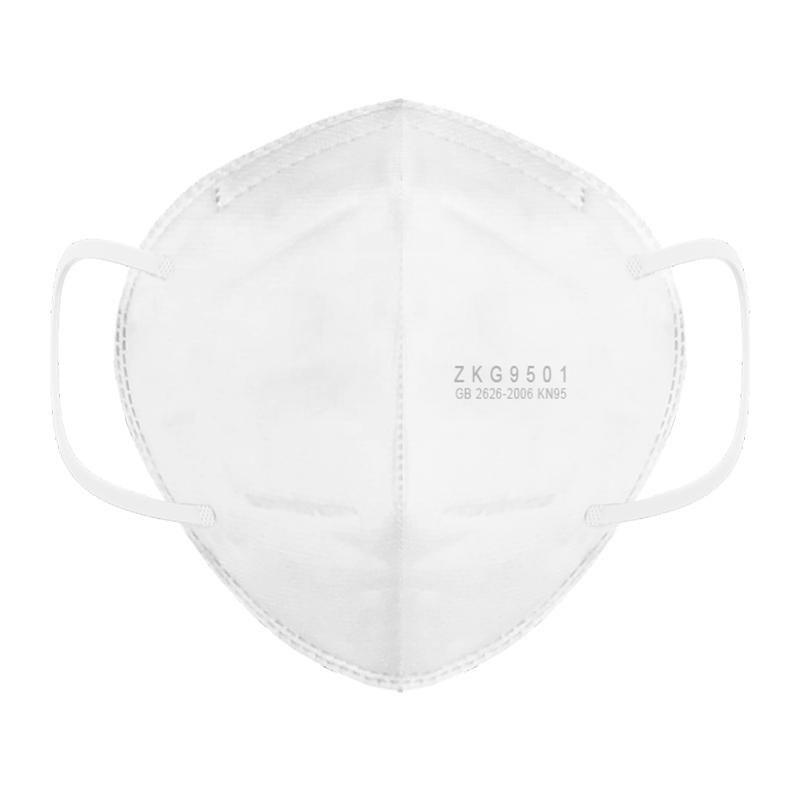KN95 Face Mask Anti-foaming Splash Proof PM2.5 Dust Anti Fog Filter Breathing Protective Mask Hanging Ear Type