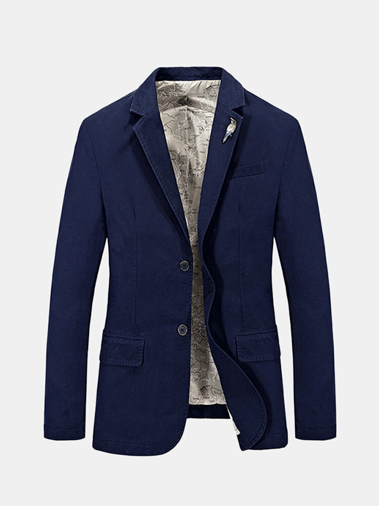 Mens Casual Business Fashion Jacket - 1