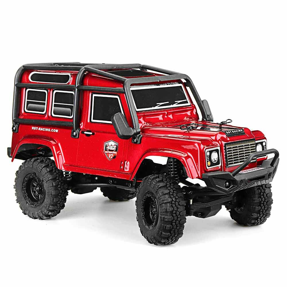 Eachine EAT04 1/12 2.4G 4WD Brush Rc Car Metal Body Shell Desert Off-road Truck RTR Toy Black - 8
