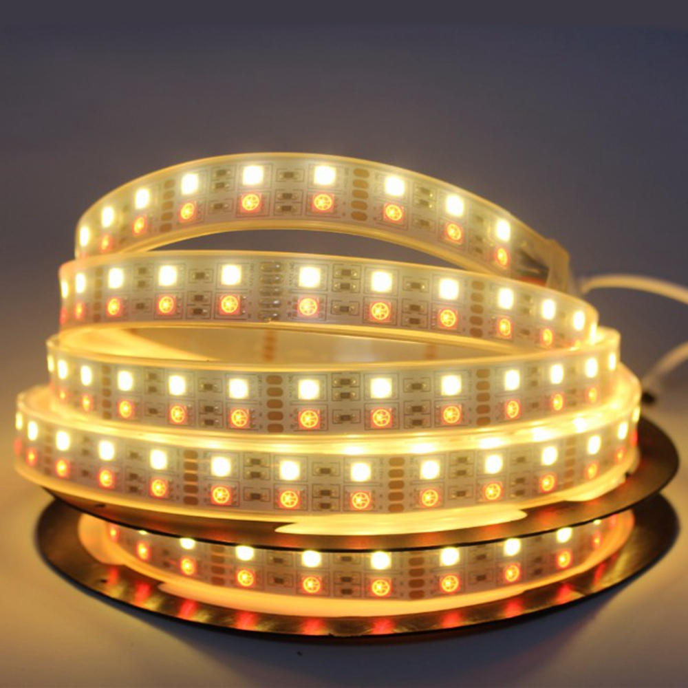 5M SMD5050 IC6803 RGB Remote Control Waterproof LED Strip Light+RF Controller+Power Adapter DC12V - 10