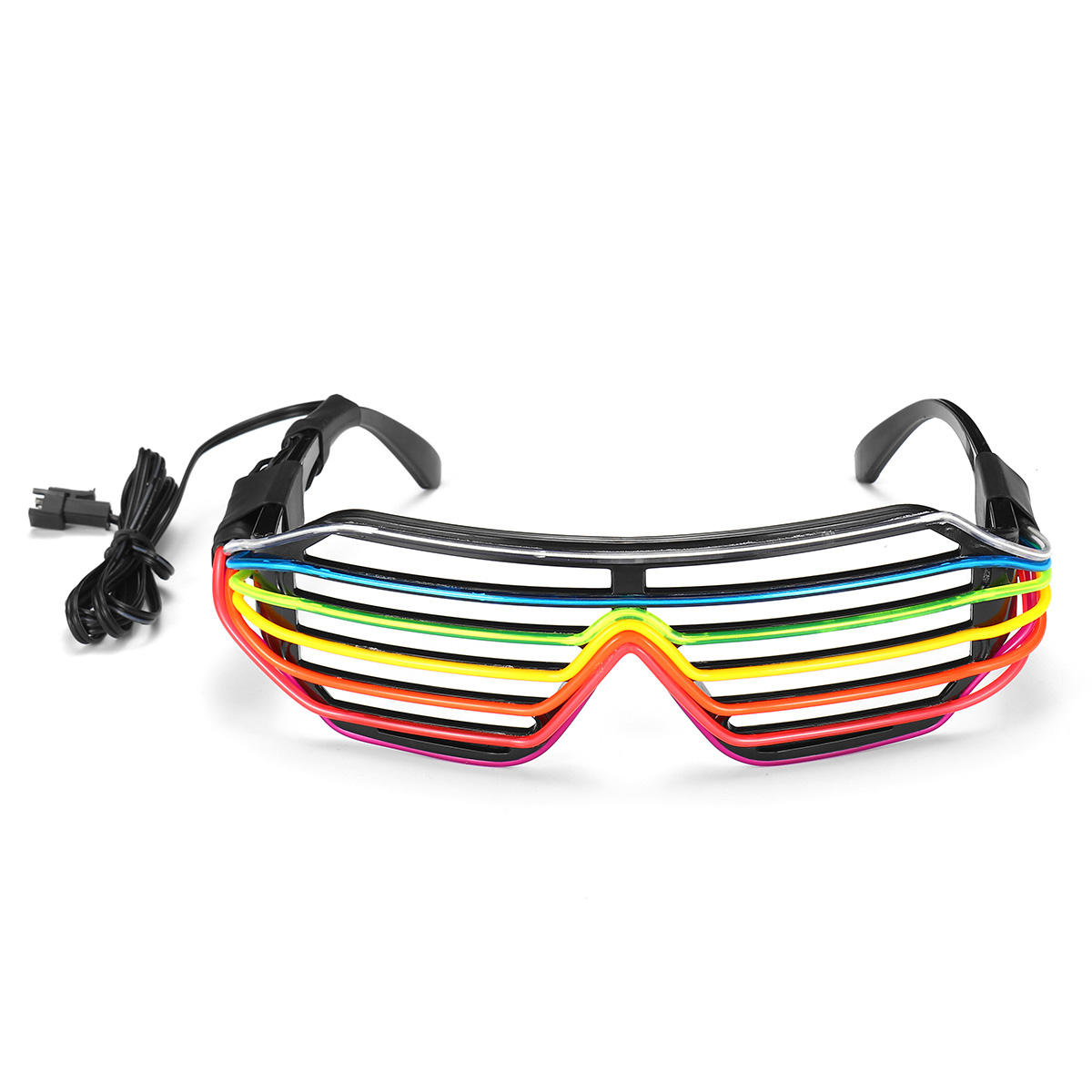 Flashing party led light glasses for party birthday party funny tricky dj