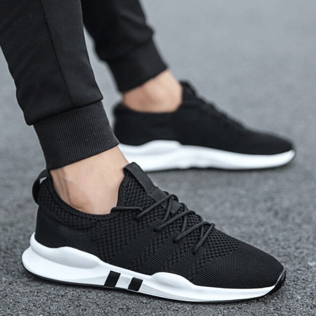 Men's Quick Drying Breathable Ball Game Sneakers Running Outdoor Sports Sneakers - 4