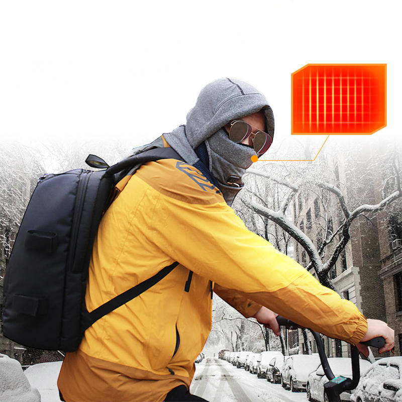 Purely Fresh Air Mask PM2.5 Filter Anti-Pollution Respirator USB Rechargeable 3 Modes Wind Speed Anti Dust Breathing Face Mask For Sport Cycling Camping Travel From Xiaomi Youpin - 6
