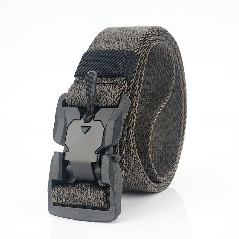 AWMN SS5 125cm Magnetic Buckle Belt Heavy Duty Polyester Tactical Belt