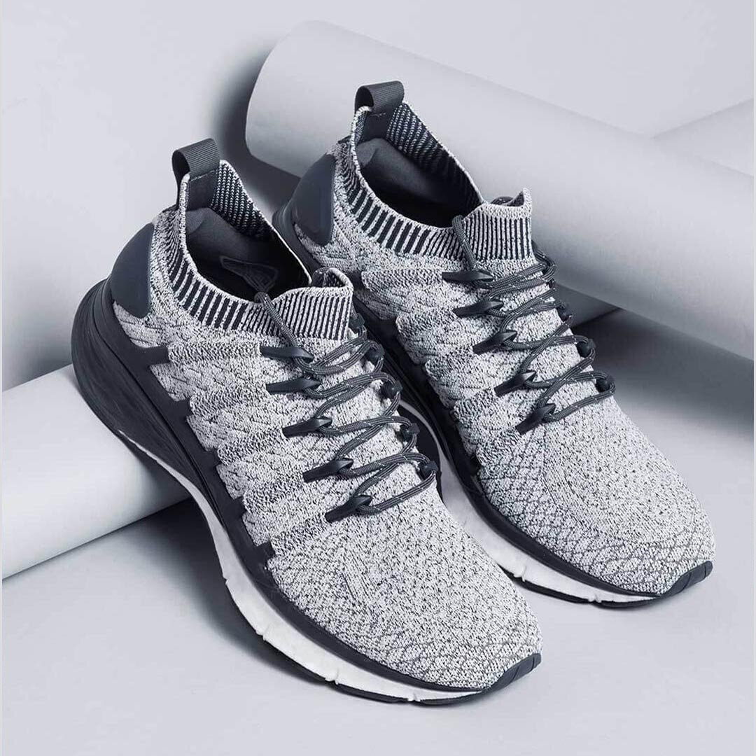 Xiaomi Mijia Sneakers 3 Machine Washable Ultralight TPU + FREE FORCE Midsole Technology Shock Absorption 3D Fishbone Lock System Sports Running Shoes Men Sneakers - 2