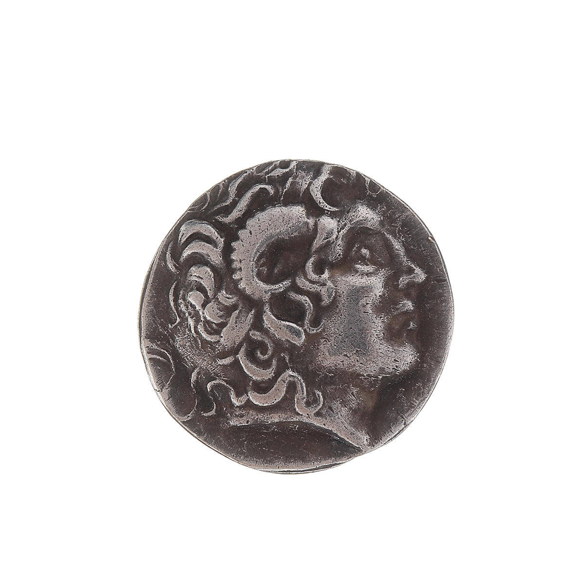 Rare Silver Plated Greek Coin Ancient Alexander III The Great Greek Coin
