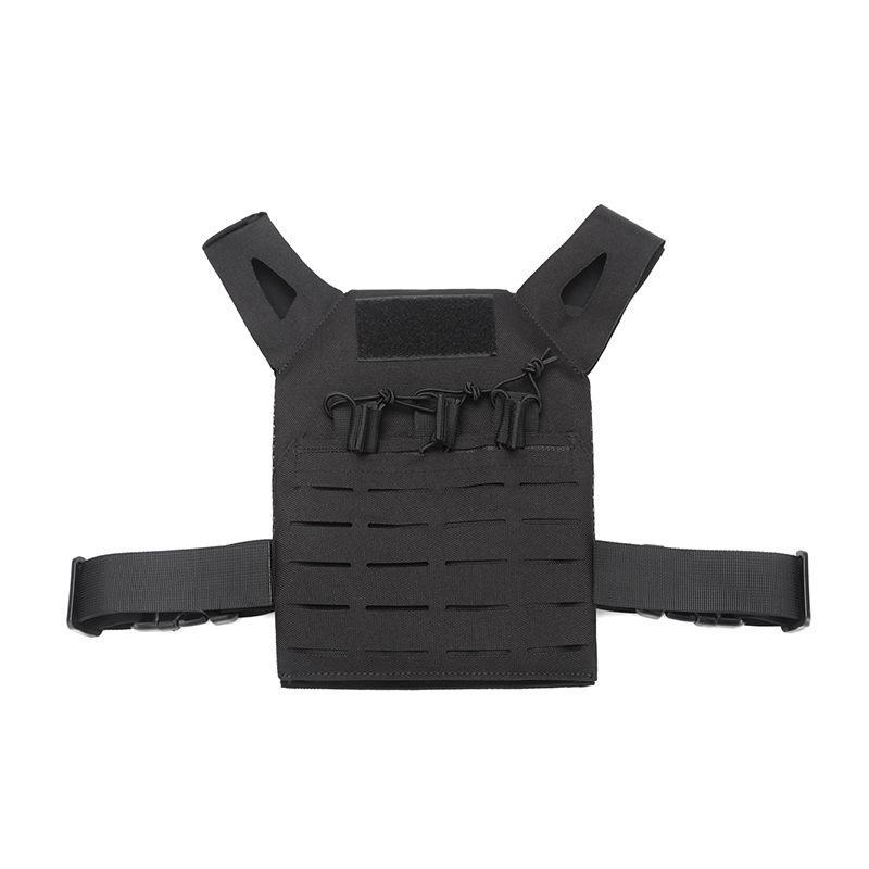 ZANLURE Kinder Tactical Vest Amphibious Forces Molle Weste Outdoor Jagd Angeln Training Weste - 3