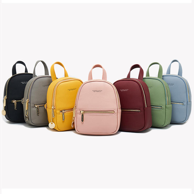 Women New Backpack Beauty Zipper Bag Shool Bag Casual for Girls