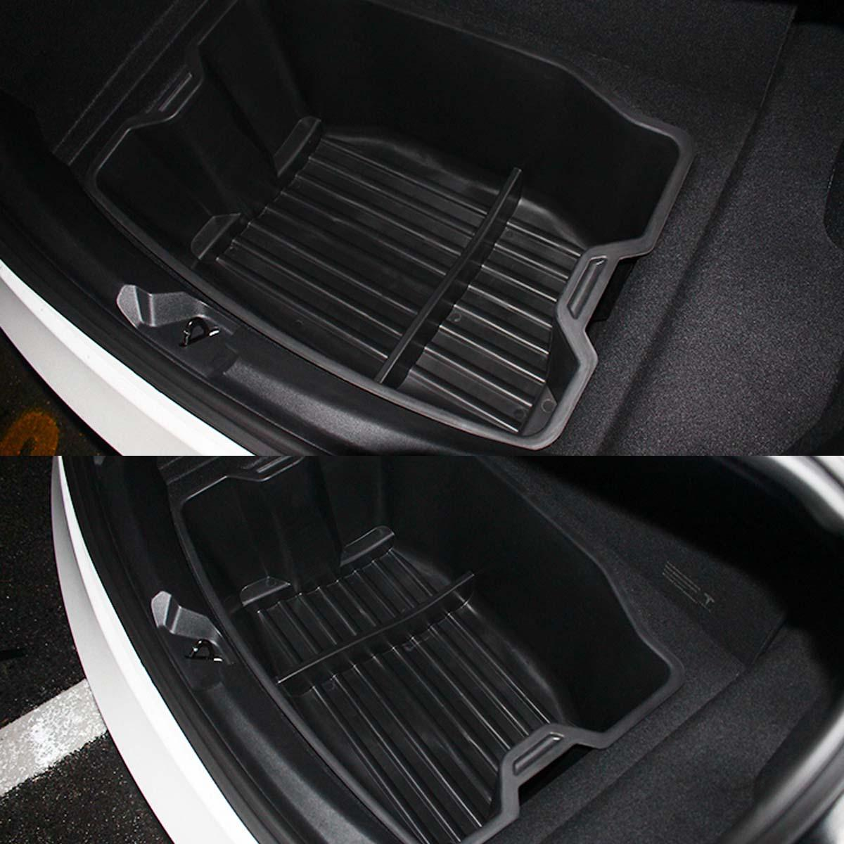 Detachable Car Seat Crevice Gap Storage Box Organizer Leather Cup Holder Double Sided Installation - 4
