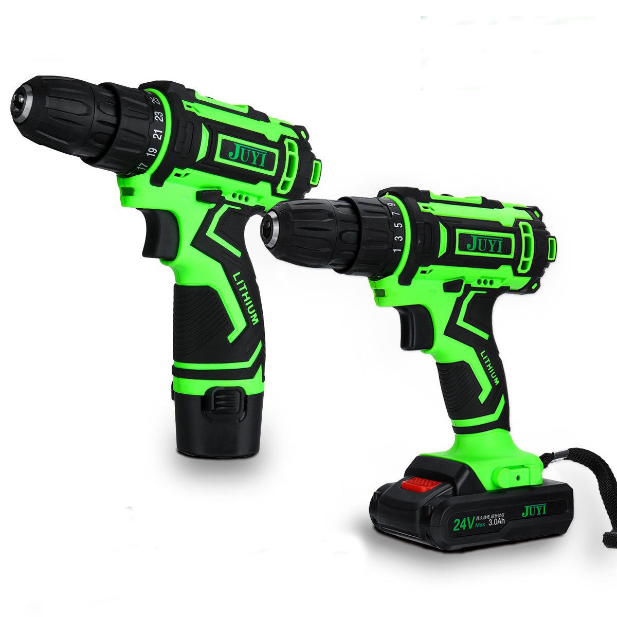 42VF Li-Ion Battery Cordless Rechargeable Electric Impact Drill Driver Screwdriver LED Light - 1