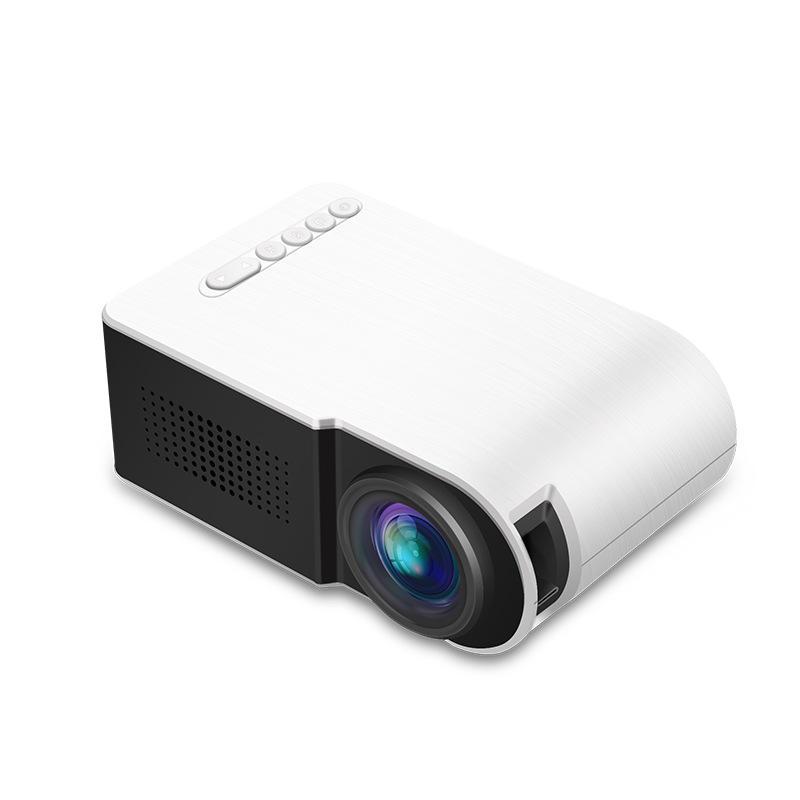 YG210 Micro LCD Projector 7000 Lumens Mini Portable LED Projector 1080P Home Theater Cinema USB HDMI AV SD фото