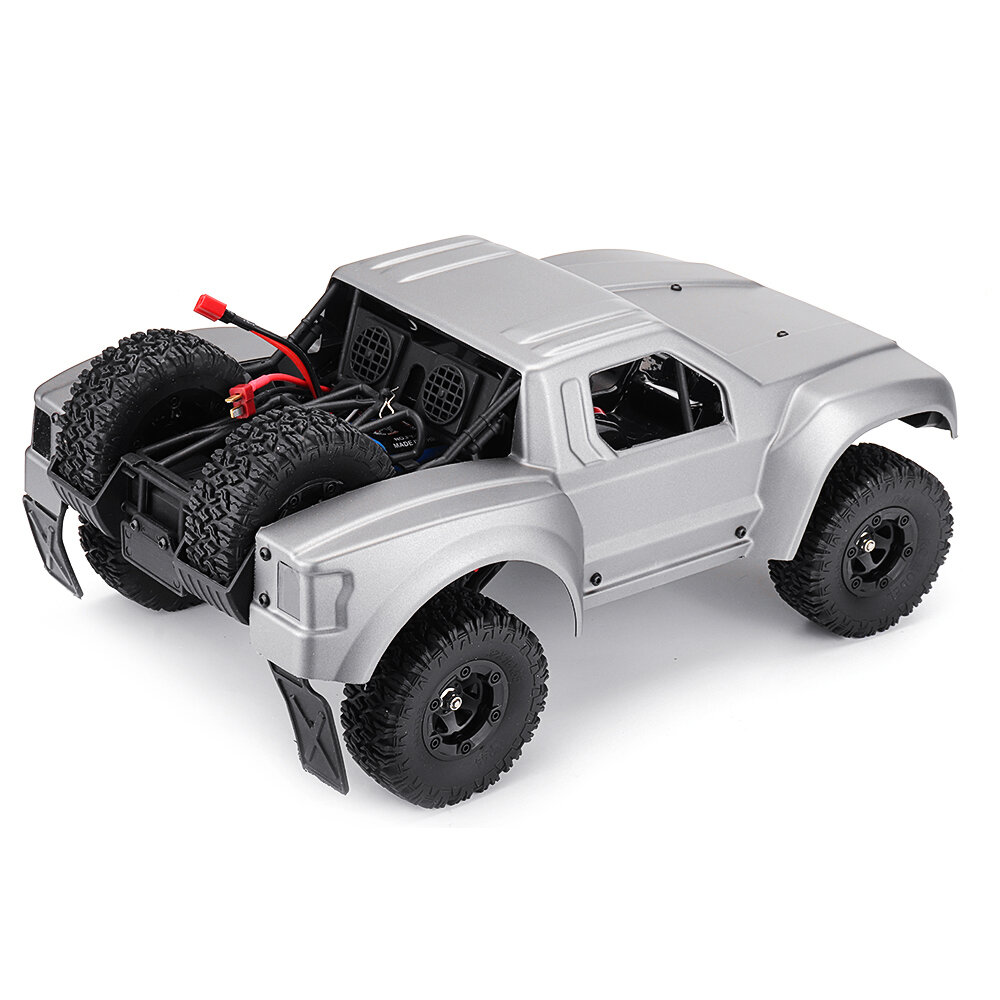 WLtoys 12427 2.4G 1/12 4WD Crawler RC Car With LED Light - 3