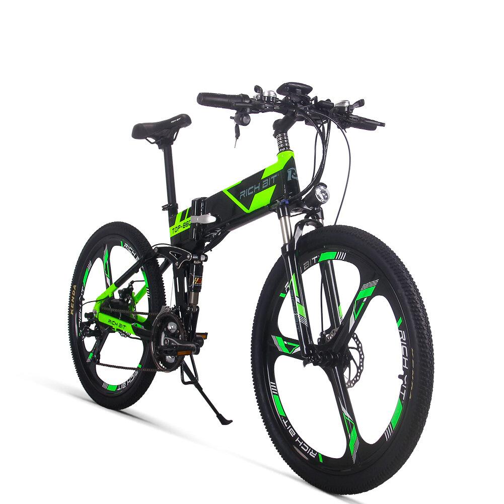 Rower elektryczny RICH BIT TOP-860 z EU za $1082.67 / ~4516zł