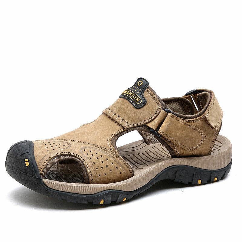 Мужская обувь Тапки Сандалии Пляжный Нескользящая дышащая Водонепроницаемы На открытом воздухе Спортивная обувь - 1
