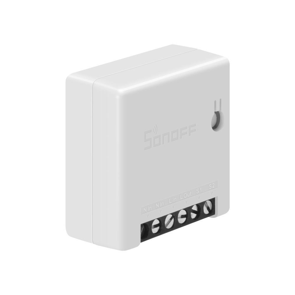 2pcs SONOFF Mini Smart Switch bidirezionale 10A AC100 240V Funziona con Amazon Alexa Assistente Home Google Nest Supporta la modalità DIY Permette a Flash il firmware - 3
