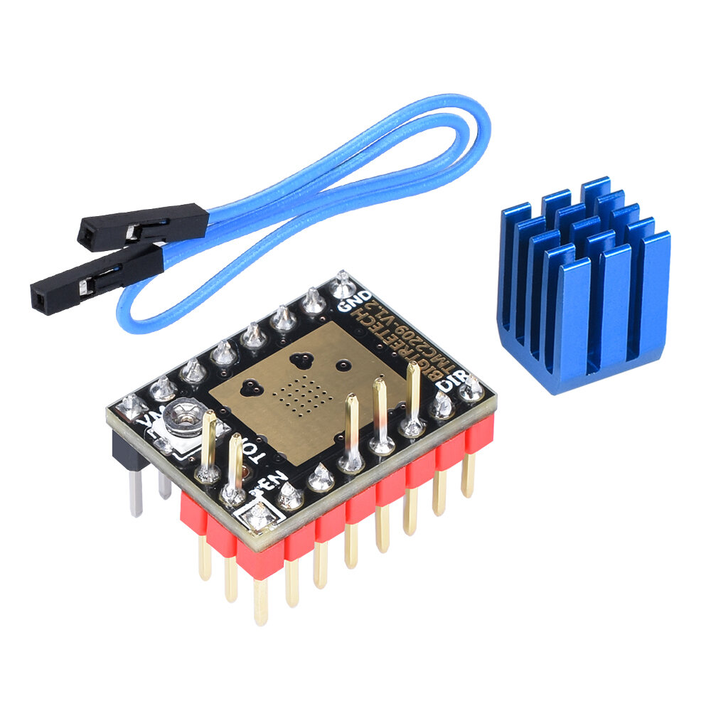 1.75mm 0.4mm Dual Fans Extruder With 0.1mm Accuracy/ Over Temperature Protection For 3D Printer Part - 1