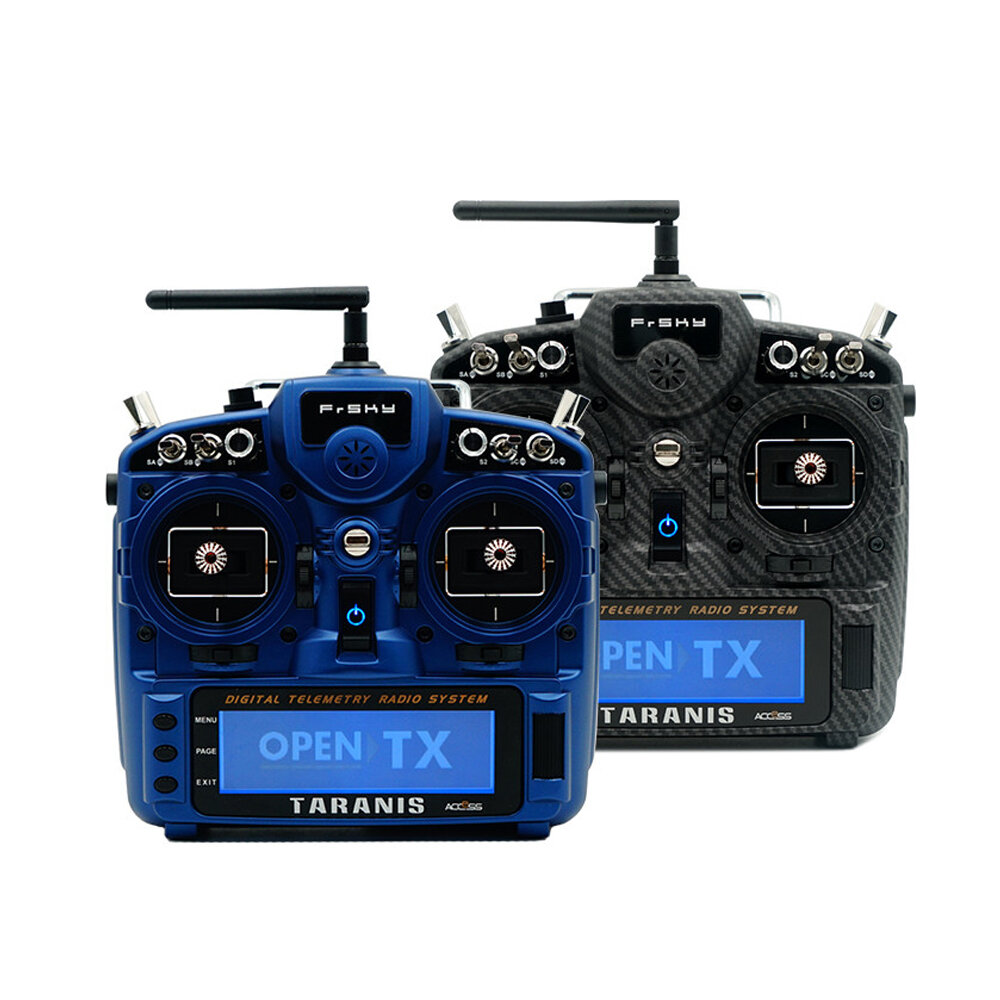 FrSky Taranis X9D Plus SE 2019 24CH ACCESS ACCST D16  Mode2 Transmitter M9 Hall Sensor Gimbal PARA Wireless Training Function for RC Drone