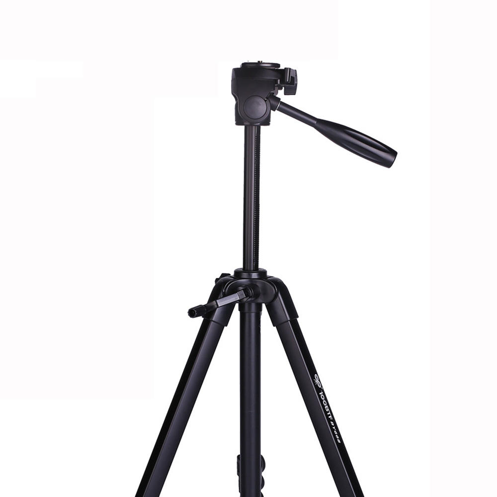SHOOT XTGP439 Aluminum Alloy 4-Sections Camera Tripod for Canon for Nikon DSLR Stand With Ball Head 8kg Max Load 1.6m Max Height - 2