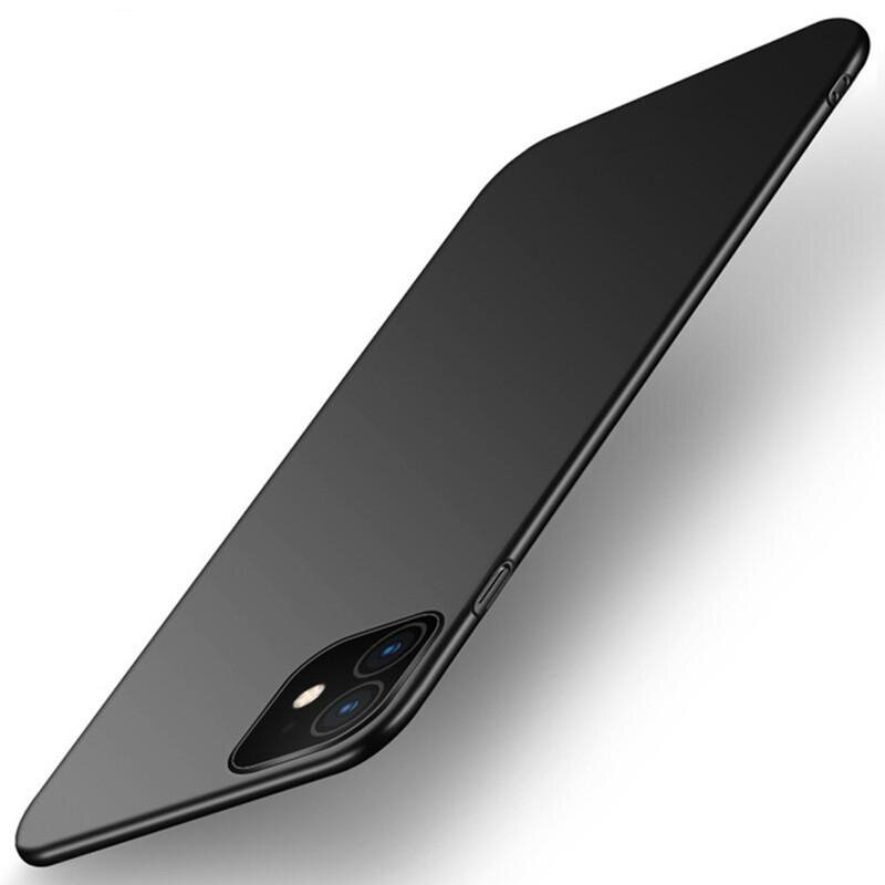 Bakeey Shockproof Ultra Thin Silky Hard PC Protective Case for iPhone 11 6.1 inch