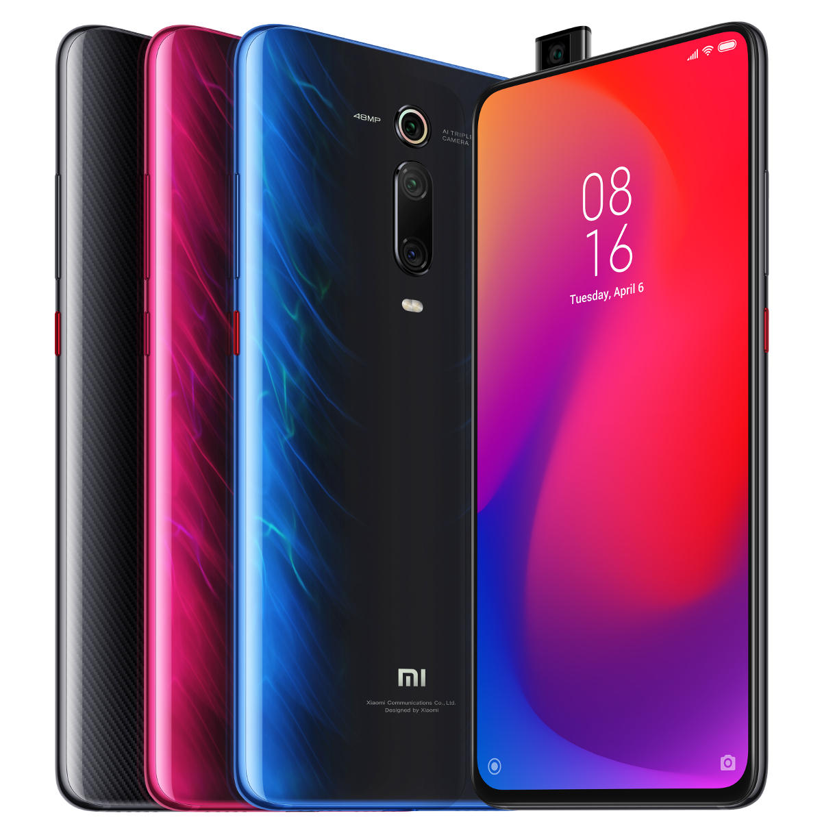 327.59 - Xiaomi Mi 9T Pro - 6GB - 64GB - Global Version - 6.39 inch - 48MP Triple Camera - NFC - 4000mAh - Snapdragon 855 Octa core - 4G Smartphone