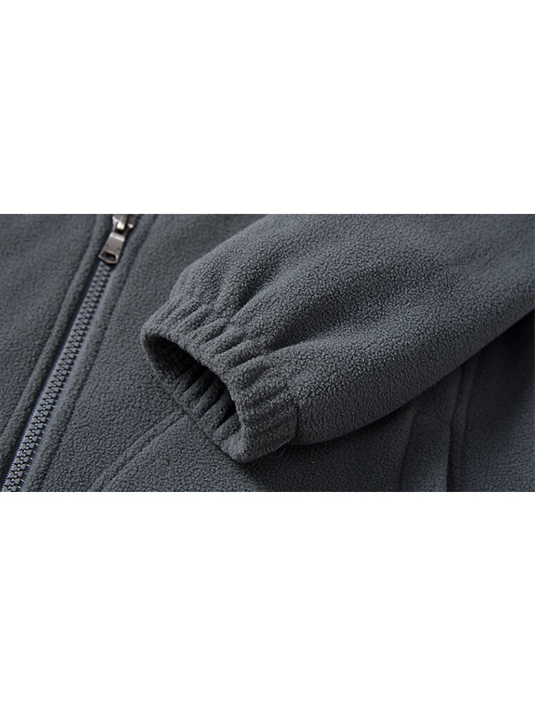 Reversible Double Sided Wearable Cotton Men Outdoor Jacket - 5