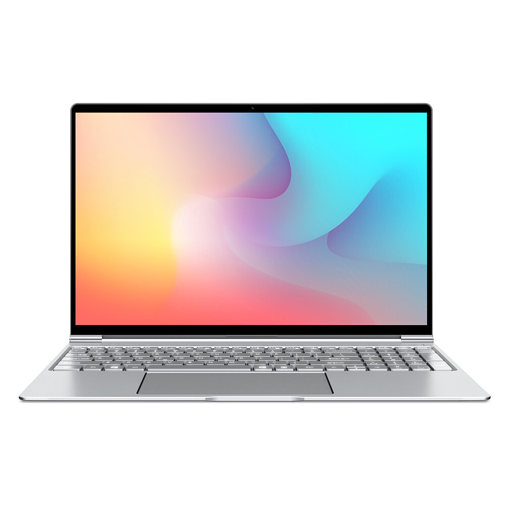 Teclast F15 Laptop 15.6 inch Intel N4100 8GB 256GB SSD 7mm Thickness 91% Full View Display Backlit Notebook  Silver