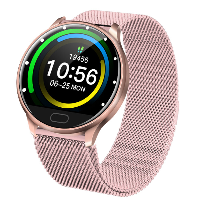 XANES® C198 1.22'' Color Touch Screen IP67 Waterproof Smart Watch BP spO2 Monitor Remote Camera Find Phone Sports Fitness Bracelet - 4