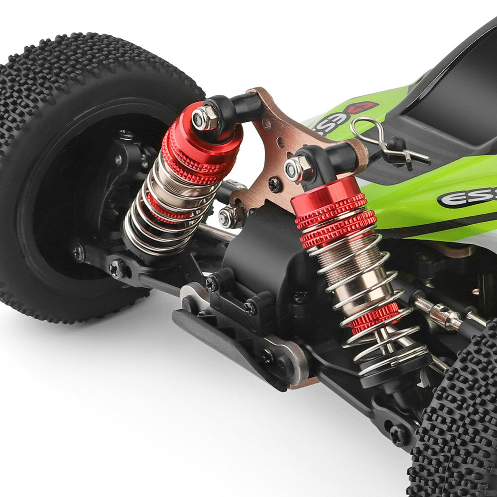 WPL C24 1/16 Kit 4WD 2.4G Military Truck Buggy Crawler Off Road RC Car 2CH Toy - 7