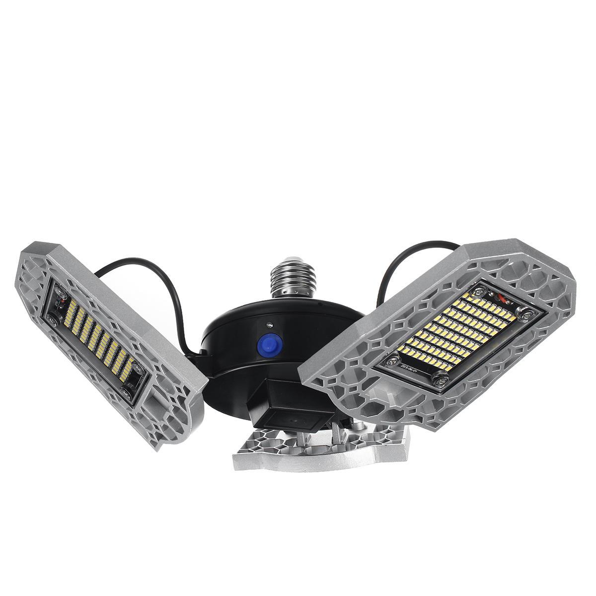 E27 Football LED Light Bulb 60W 80W 100W 120W Warm White Workshop Folding Garage Ceiling Lamp 100-277V - 2