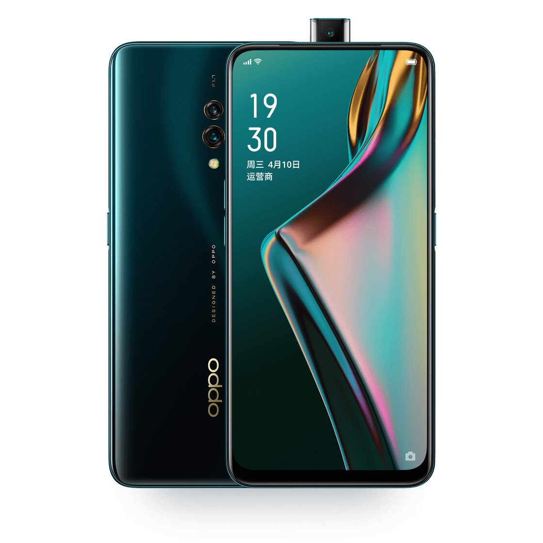 OPPO K3 6,5 tommers FHD + 3765mAh VOOC 3.0 Android 9.0 6 GB RAM 64GB ROM UFS 2.1 Snapdragon 710 Octa Core 2.2GHz Smarttelefon