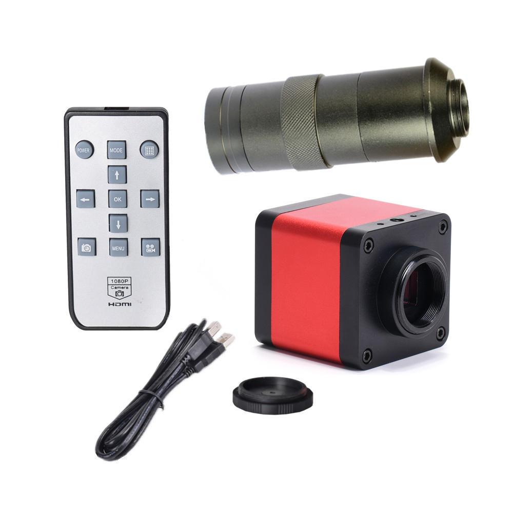 HAYEAR 48 MP 1080P 100X Mikroskop HDMI USB2.0 ile Kamera Iki Çıkış
