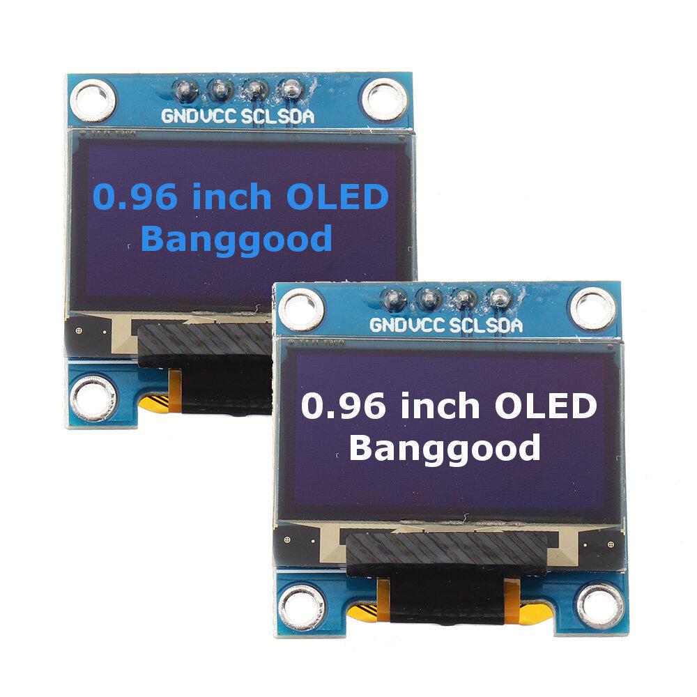 0.96 Inch OLED I2C IIC Communication Display 128*64 LCD Module For  Free Routine