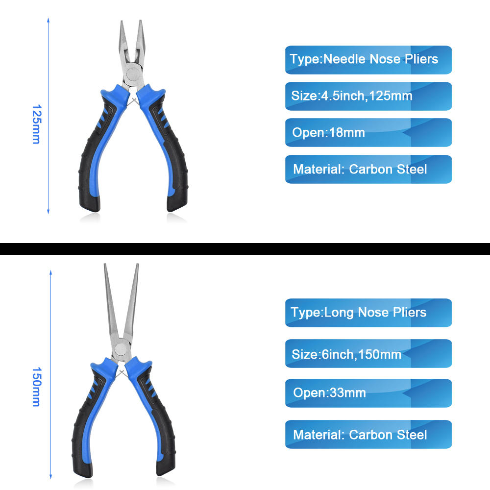 Pliers Nipper H Practical Electrical Wire Cable Cutter Cutting Side Snips Flush Pliers Mini Pliers - 9
