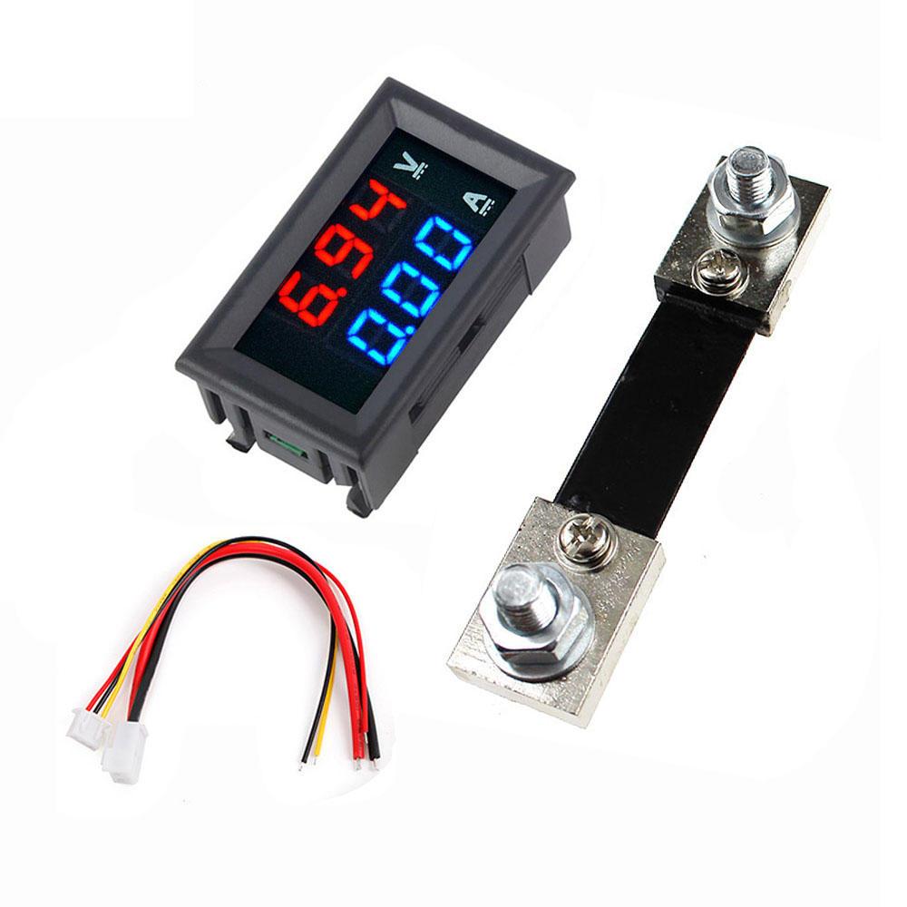 """5pcs 0.28/"""" LED DC 0-100V Digital Voltmeter Panel Meter RED"""