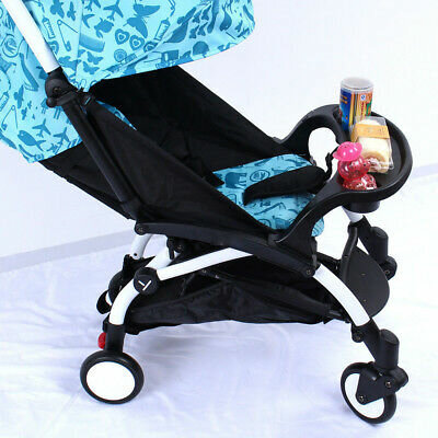 Stroller Pram Child Snack Tray Food with/2 Water Cup Stand For YOYO YOYA