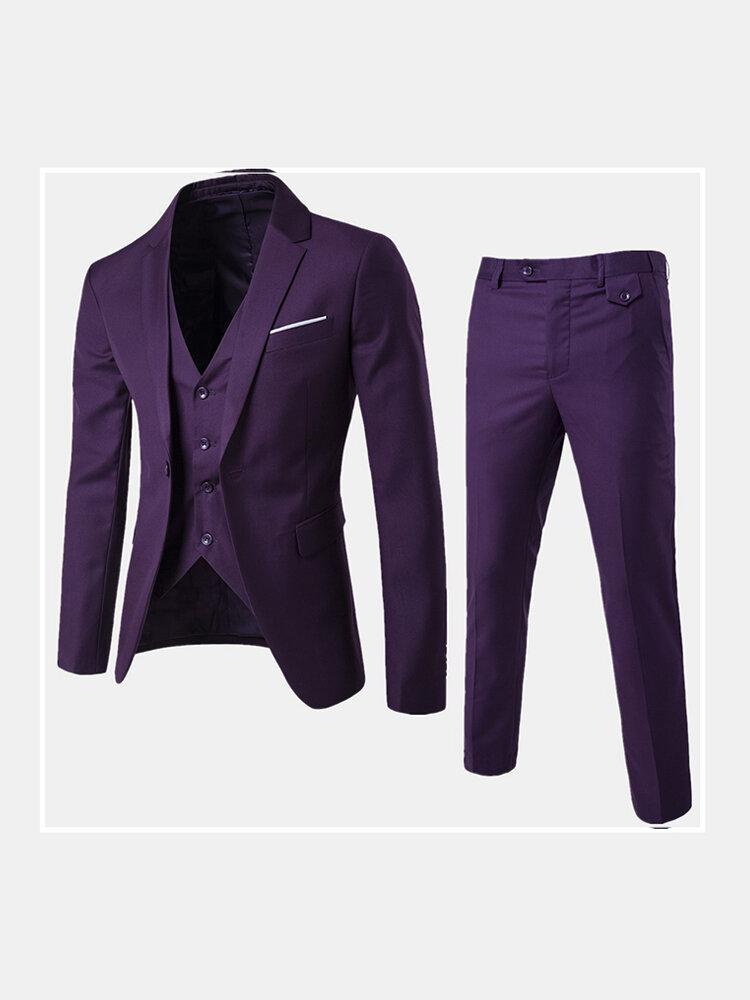 Three Pieces Suit for Men - 1