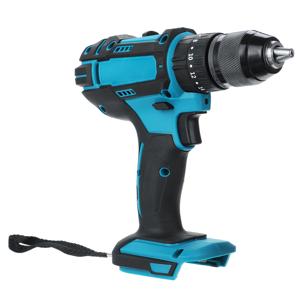 10mm Chuck Brushless Impact Drill 350N.m Cordless Electric Drill For Makita 18V Battery 4000RPM LED Light Power Drills - 5