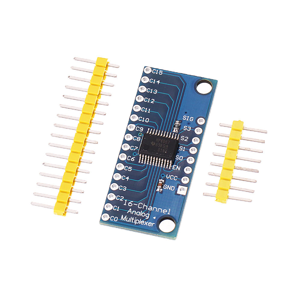 ADC CMOS CD74HC4067 16CH Channel Analog Digital Multiplexer Module Board For Arduino