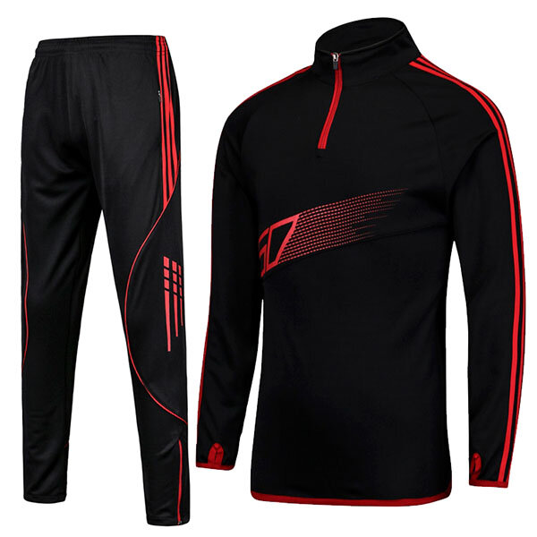 Casual Stitching Color Running Training Sportswears - 1