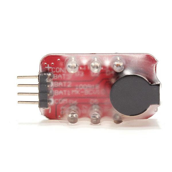 7 4V -11 1V 2S-3S RC Lipo Battery low voltage Alarm Indicator