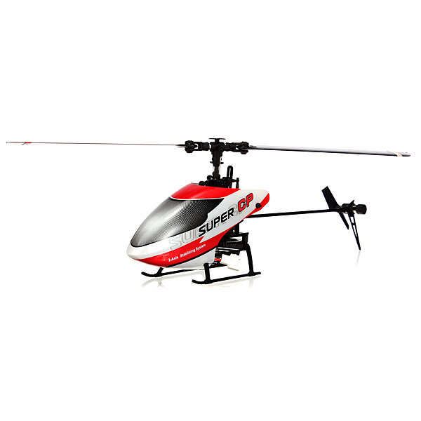 Walkera Super CP 6CH 3D Flybarless 3-Axis-Gyro RC Helicóptero BNF