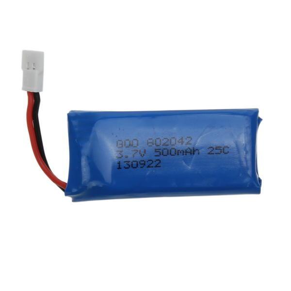 3.7V 500mAh Battery For Hubsan X4 H107 H107L H107C H107D V252 JXD385