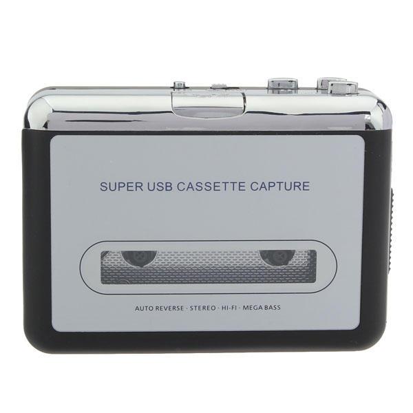 12V 10W USB Stereo Cassette Capture Cassette To MP3 Transducer