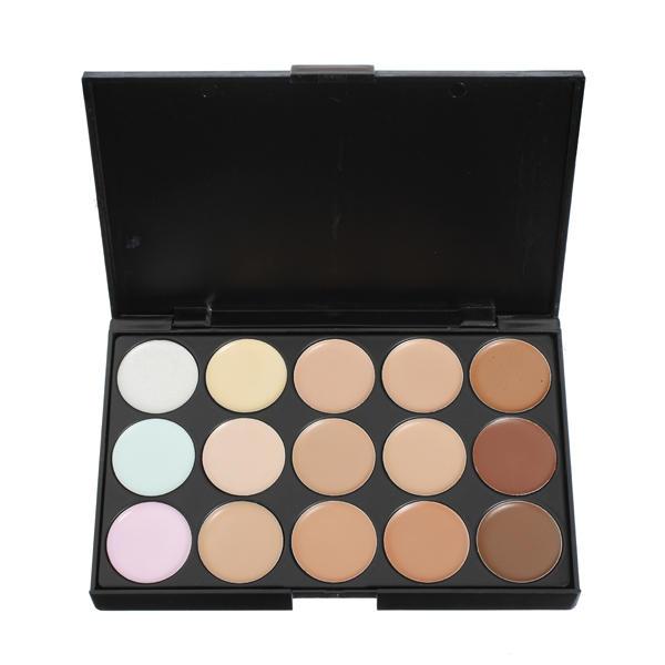 15 Colors  Makeup Concealer Foundation Palette Set